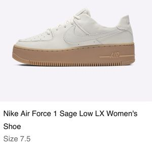 Nike Sage Air Force 1 Size 7.5
